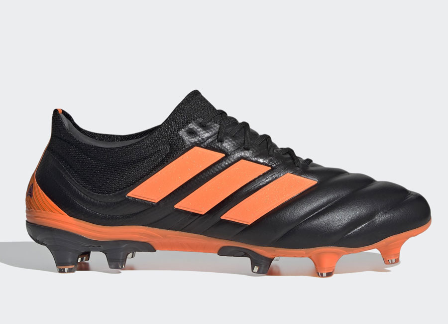 Adidas Copa 20.1 FG Precision to Blur - Core Black / Signal Orange / Energy Ink #adidasfootball #footballboots