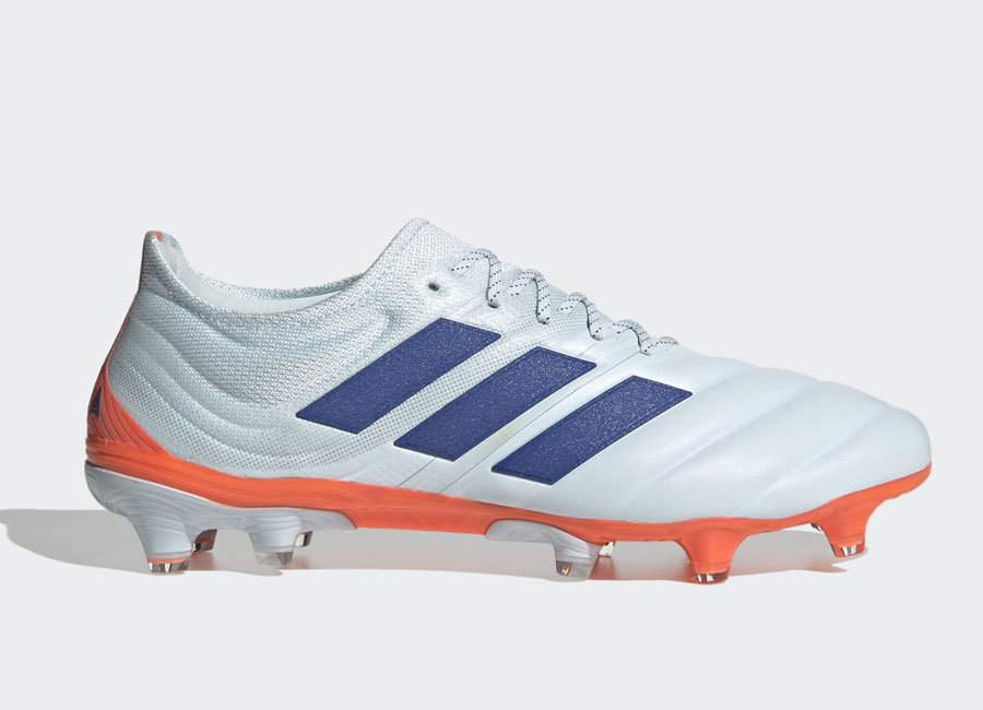 Adidas Copa 20.1 FG Glory Hunter - Sky Tint / Royal Blue / Signal Coral #adidasfootball #footballboots