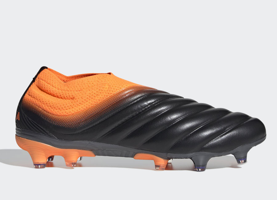 Adidas Copa 20+ FG Precision to Blur - Core Black / Core Black / Signal Orange #adidasfootball #footballboots