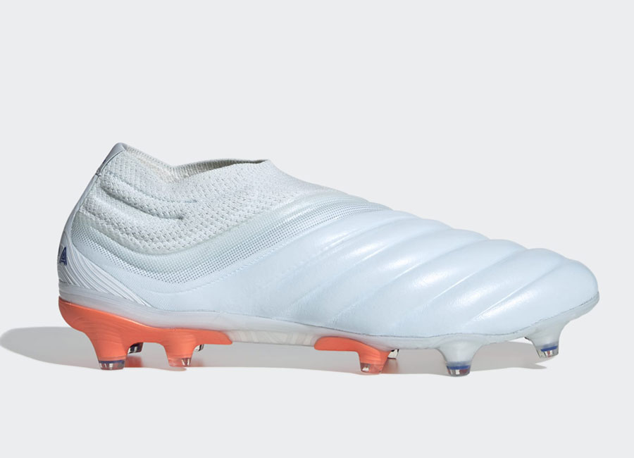 Adidas Copa 20 FG Glory Hunter - Sky Tint / Royal Blue / Signal Coral #footballboots #adidasfootball