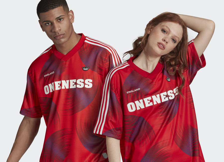Adidas England Jersey - Red #adidasfootball #footballfashion #England