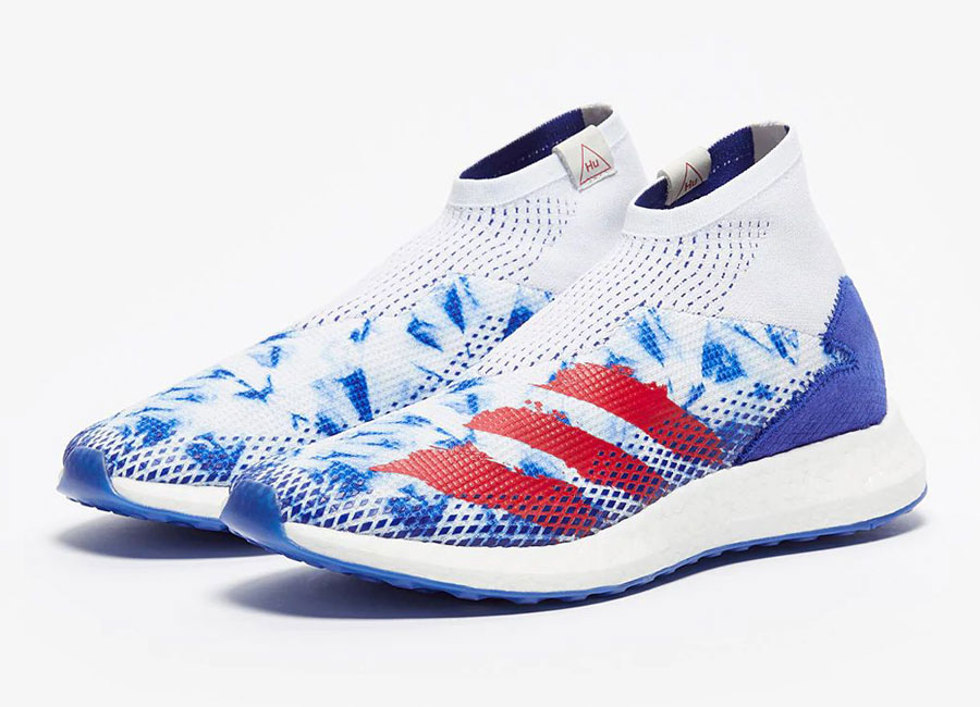 Adidas x Pharrell Williams Predator Mutator .1 Human Race TR - White / Blue / Red #manchesterunited #mufc #manutd