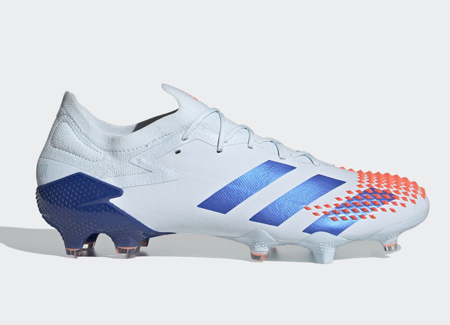 Adidas Predator Mutator 20.1 Low FG Glory Hunter - Sky Tint / Royal Blue / Signal Coral #adidasfootball #footballboots