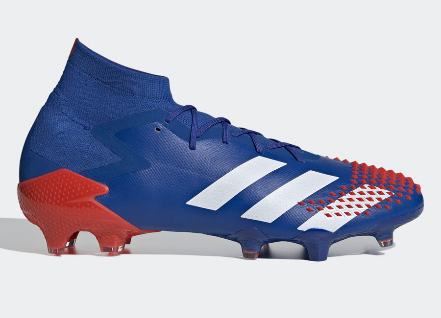 Adidas Predator Mutator 20.1 FG Tormentor - Team Royal Blue / Cloud White / Active Red #adidasfootball #footballboots