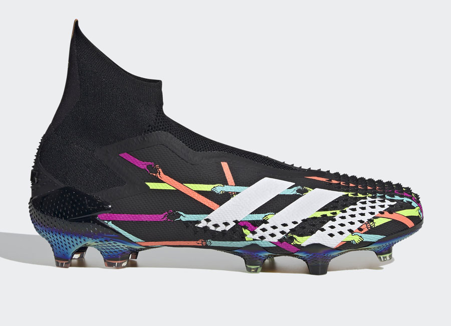 Adidas Predator Mutator 20+ Art Fg - Core Black / Cloud White / Shock Pink #adidasfootball #footballboots #ReubenDangoor