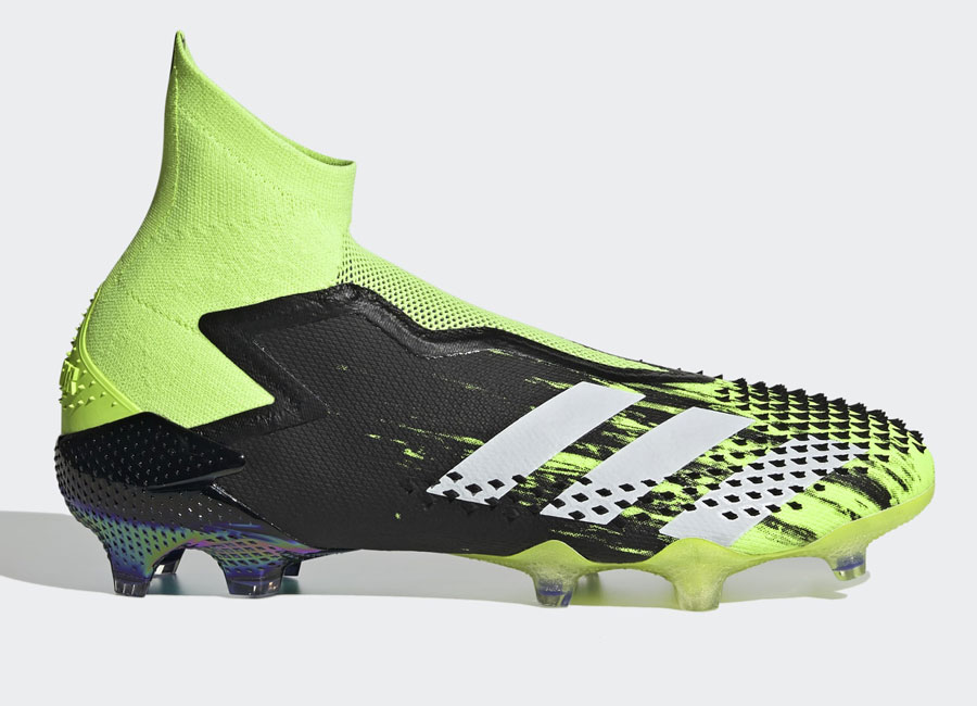 Adidas Predator Mutator 20+ FG Precision to Blur - Signal Green / Cloud White / Core Black #adidasfootball #footballboots