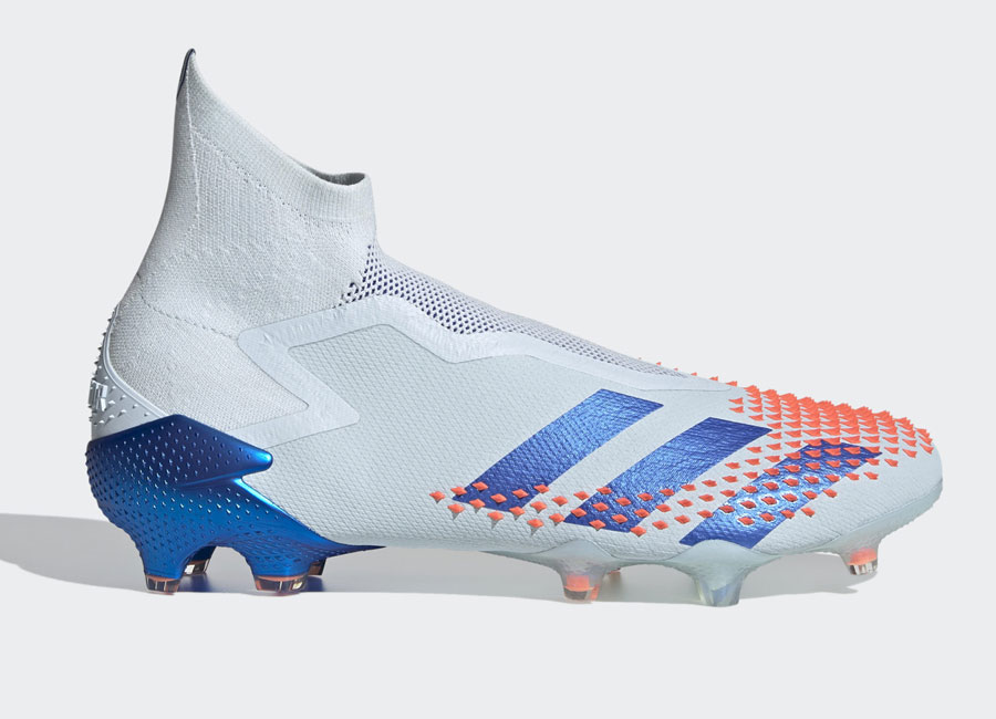 Adidas Predator Mutator 20+ FG Glory Hunter - Sky Tint / Royal Blue / Signal Coral #adidasfootball #footballboots