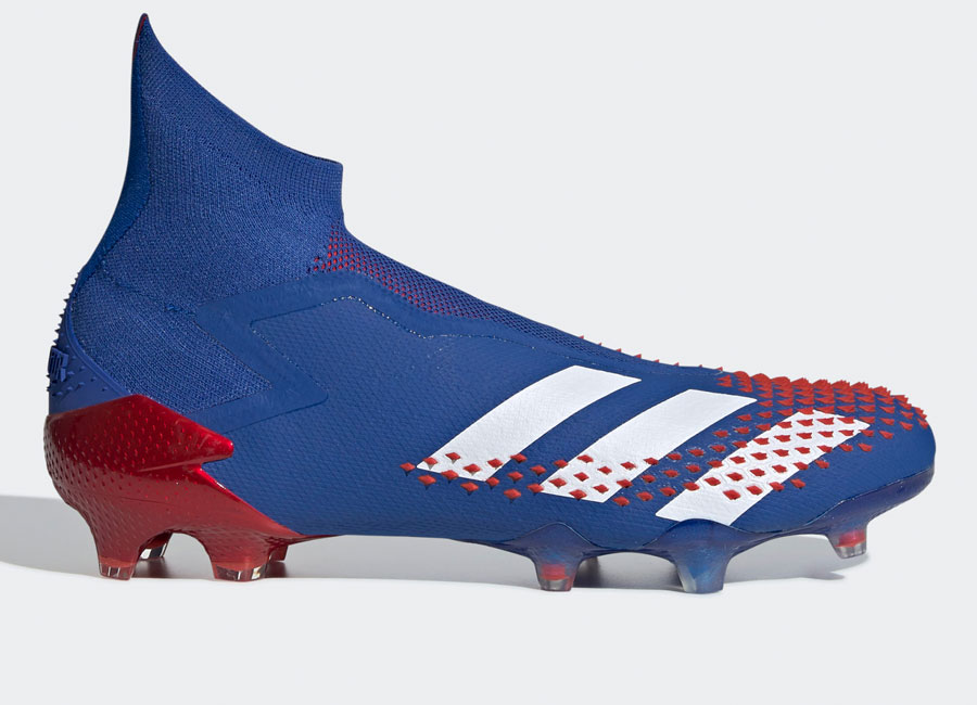 Adidas Predator Mutator 20+ FG Tormentor - Team Royal Blue / Cloud White / Active Red #adidasfootball #footballboots