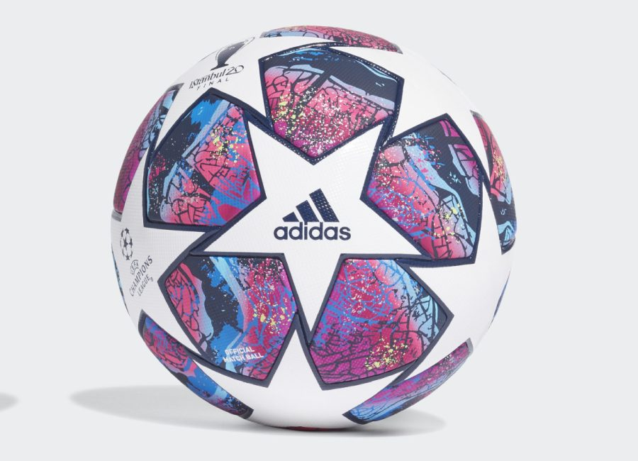 Adidas UCL Finale Istanbul Pro Football - White / Pantone / Collegiate Royal / Bright Cyan #adidasfootball #adidassoccer