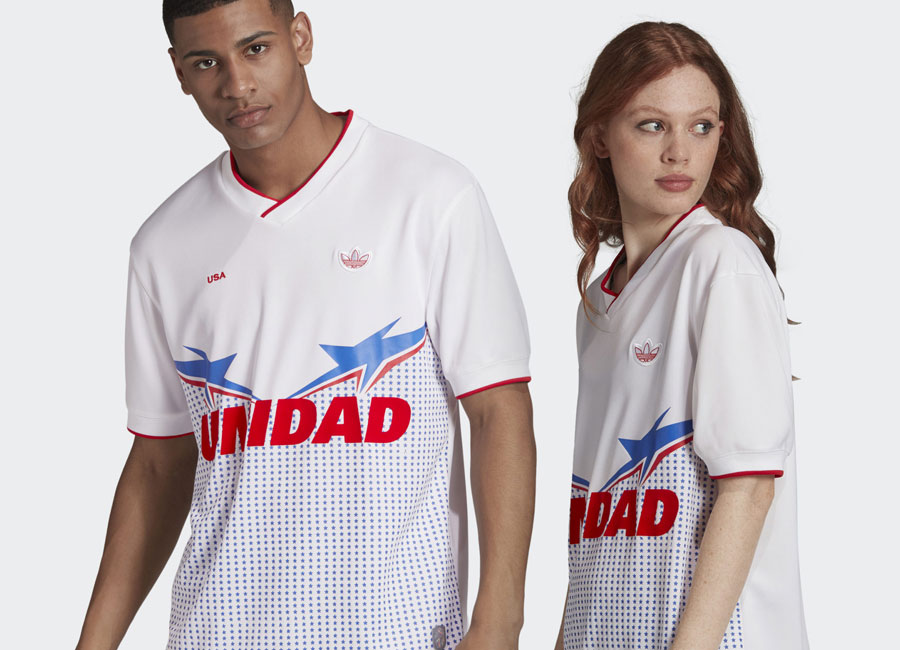 Adidas USA Jersey - White #adidasfootball #footballfashion #ussoccer