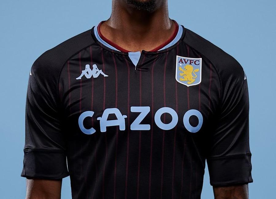 Aston Villa 2020 21 Kappa Away Kit 20 21 Kits Football Shirt Blog