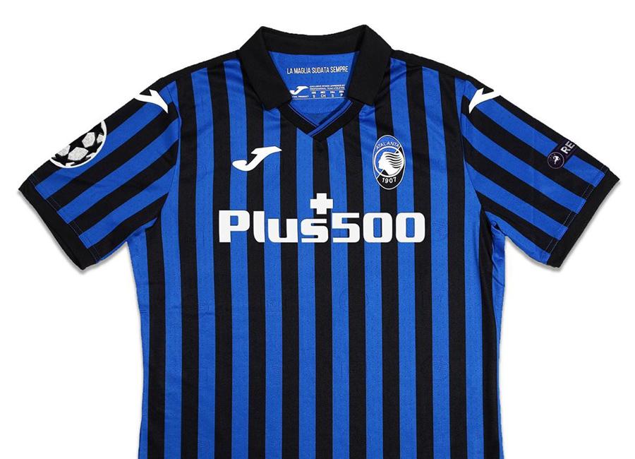 Atalanta 2020-21 Joma UCL Home Shirt   20/21 Kits   Football shirt ...