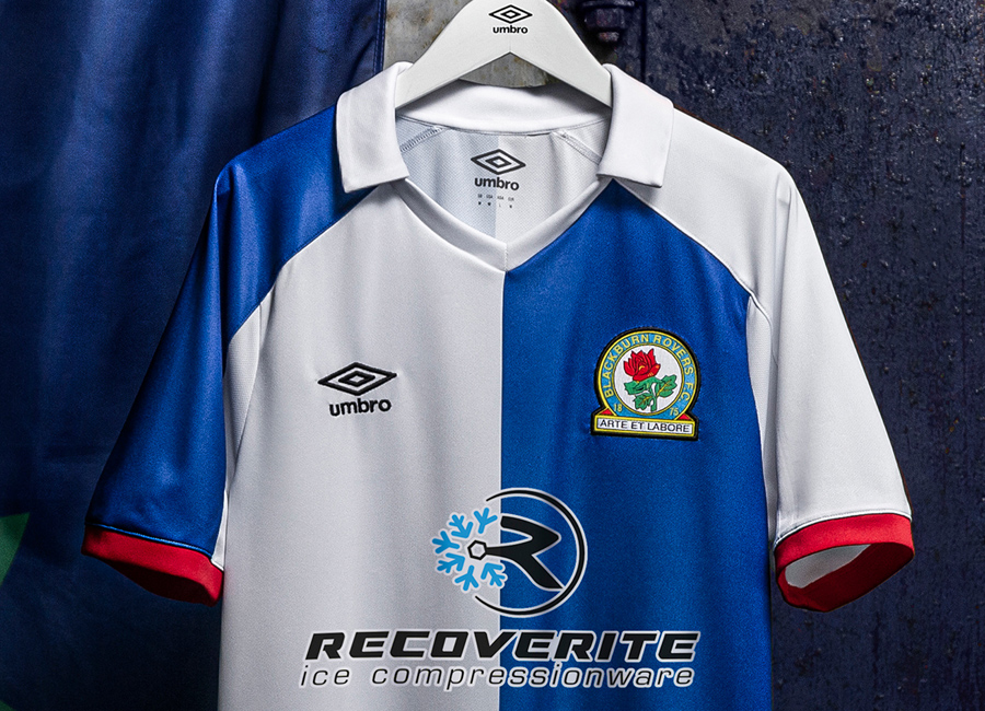 Blackburn Rovers 2020-21 Umbro Home Kit #BlackburnRovers #brfc #Rovers #umbro