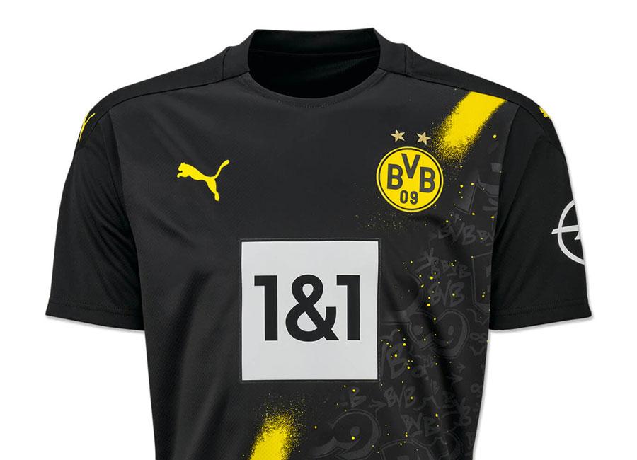 Borussia Dortmund 2020-21 Puma Away Kit | 20/21 Kits | Football ...