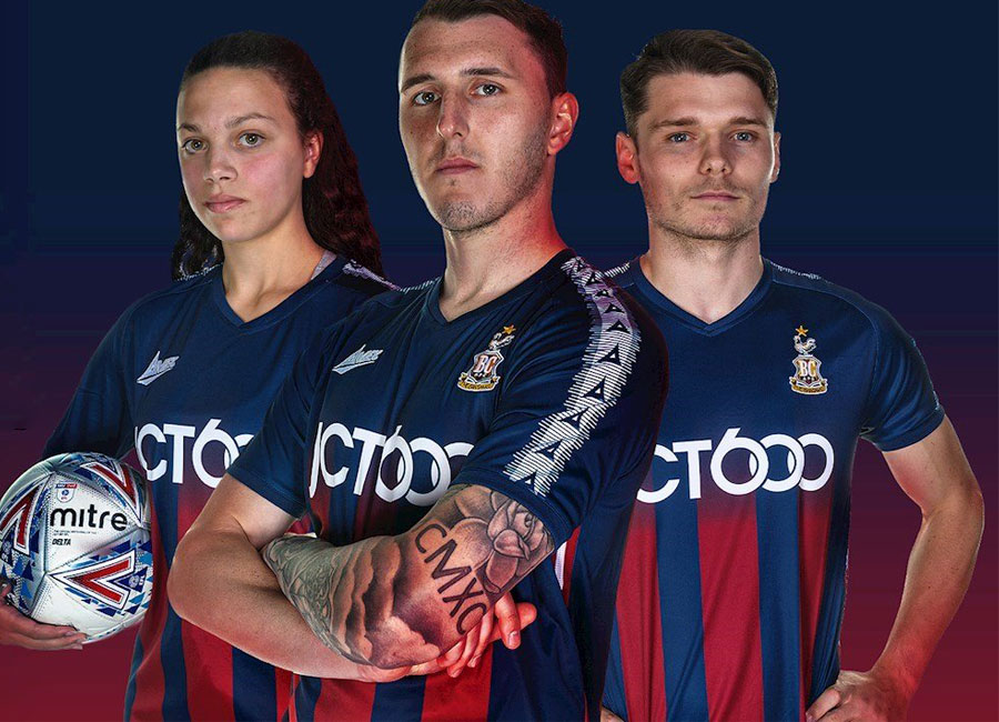 Bradford City 2020-21 Avec Away Kit #BradfordCity #BCAFC #CityForAll #AvecSport
