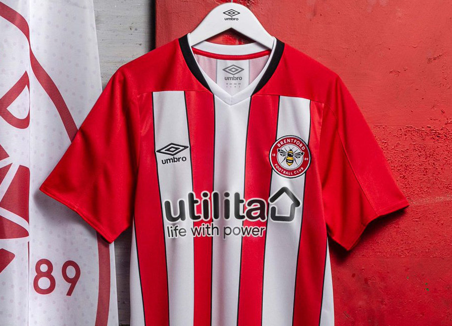 Brentford 2020-21 Umbro Home Kit #Brentford #Brentfordfc #umbro