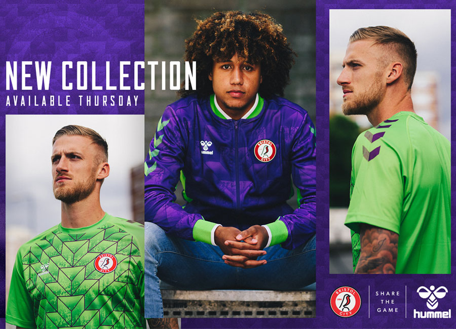 Bristol City 2020-21 Hummel Pre-match Collection #BristolCity #WeAreTheRobins #ShareTheGame