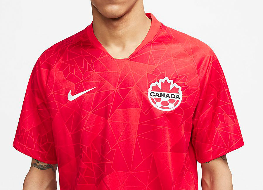 Canada 2020 Nike Home Shirt #Canada #CanadaSoccer #CanadaRED #CANMNT