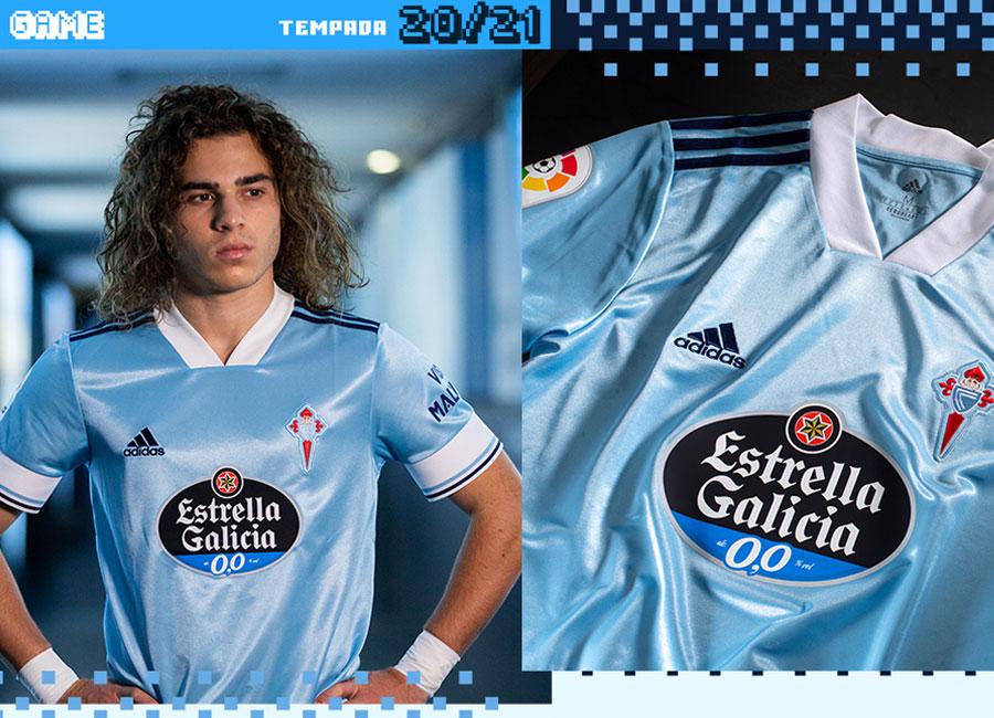 Celta de Vigo 2020-21 Adidas Home Kit | 20/21 Kits | Football ...