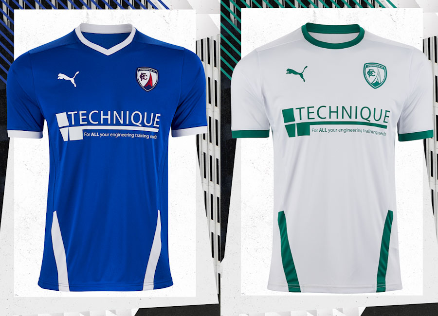 Chesterfield 2020-21 Puma Home & Away Kits #Chesterfieldfc #pumafootball