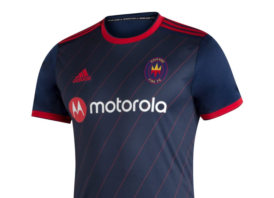 Chicago Fire 2020-21 Adidas Home Kit #cffc #cf97 #ChicagoFirefc #mls #adidasfootball
