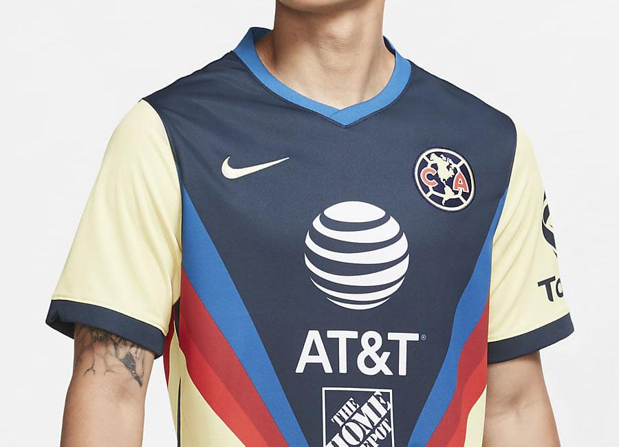 Club América 2020-21 Nike Home Shirt   20/21 Kits   Football shirt ...