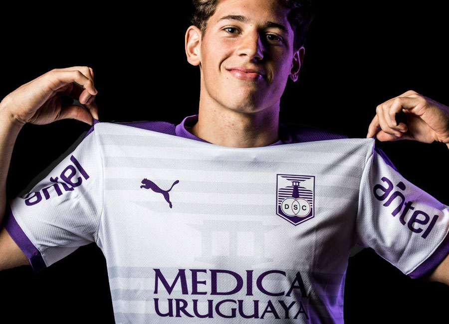 Defensor Sporting 2020-21 Puma Away Shirt #DaleTuerto #DefensorSporting #pumafootball