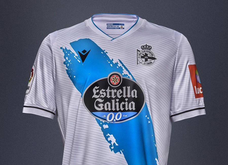 Deportivo de La Coruña 2020-21 Macron Away Shirt   20/21 Kits ...
