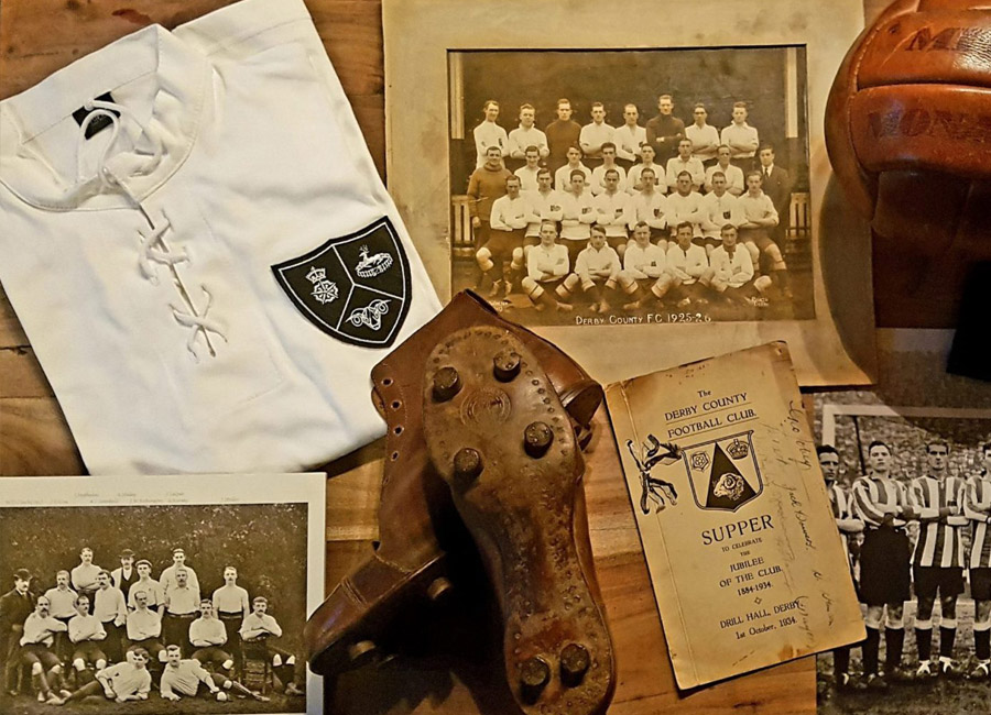 Derby County 1924-26 Retro Home Shirt #DerbyCounty #dcfc #DerbyCountyfc