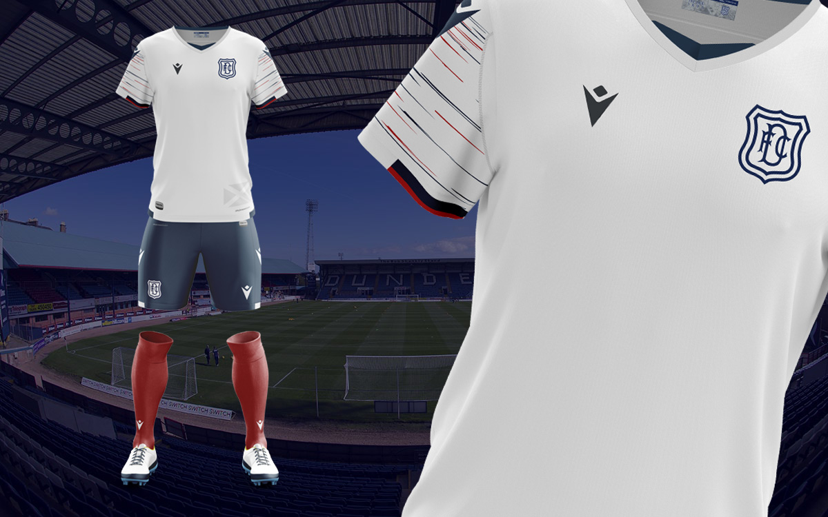 Dundee Fc 2020 21 Macron Away Kit 20 21 Kits Football Shirt Blog