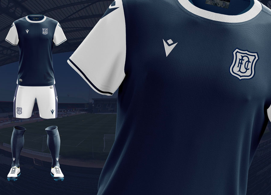 Dundee FC 2020-21 Macron Home Kit #DundeeFC #theDee