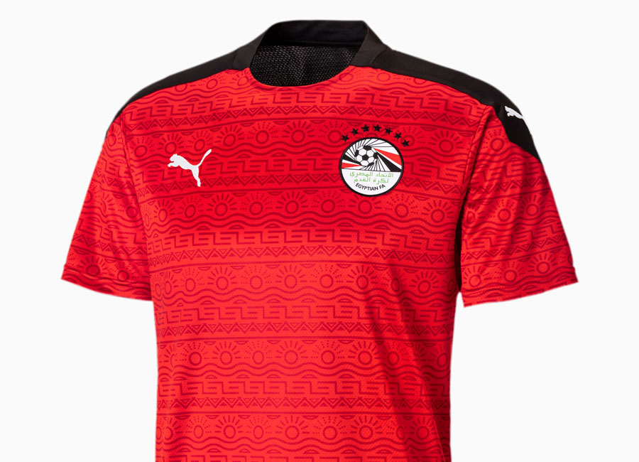 Egypt 2020-21 Puma Home Shirt #Egypt #pumafootball