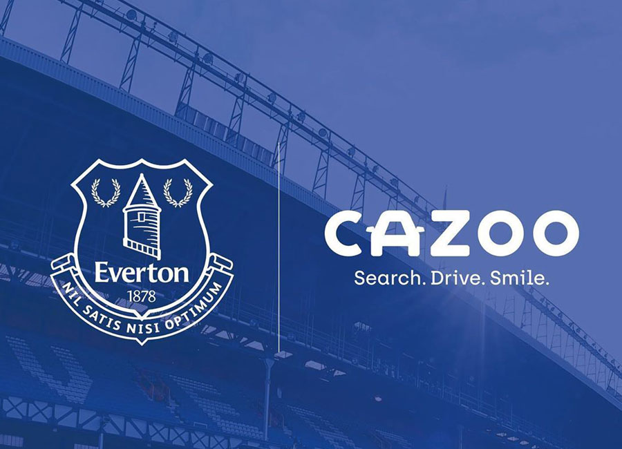 Everton Announce Cazoo Shirt Sponsor Deal #Everton #Evertonfc #efc