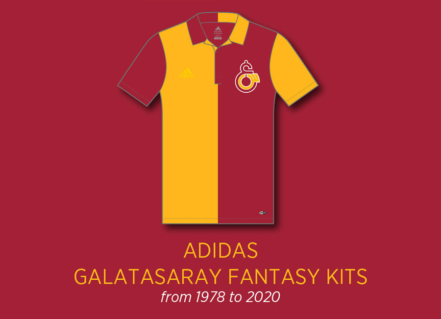 Galatasaray X Adidas Fantasy Collection by Emre Gultekin #Galatasaray #GalatasaraySK #kitdesign