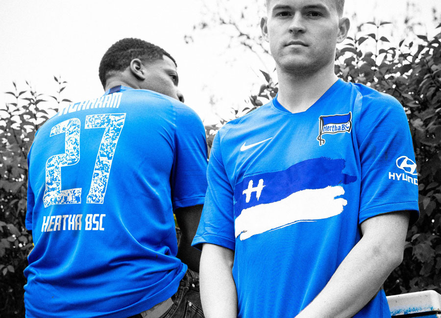 Hertha BSC 2020 Nike Special Edition Shirt #hahohe #HerthaBSC #nikefootball