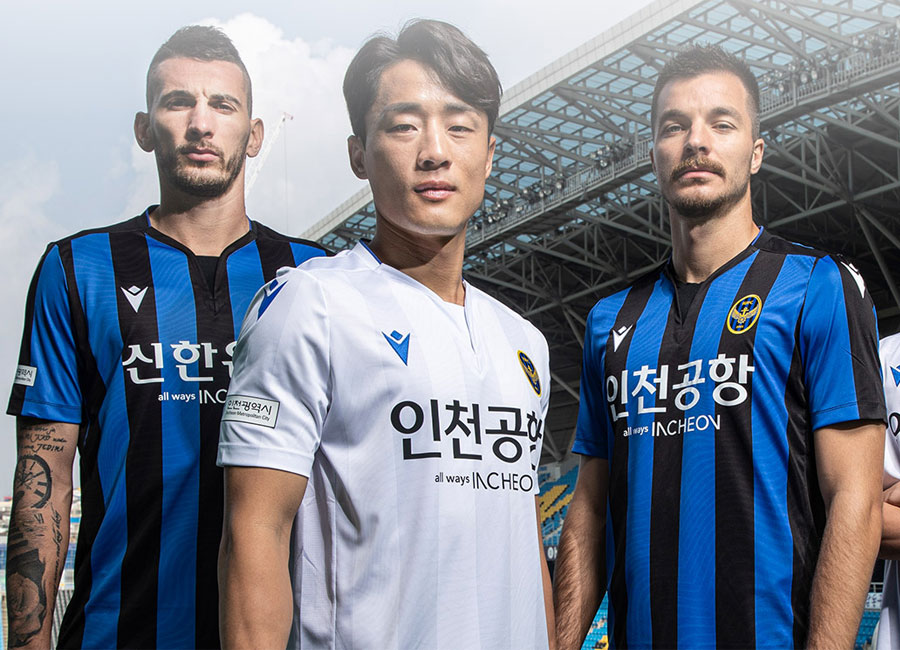 Incheon United 2020 21 Macron Home Away Kits 20 21 Kits Football Shirt Blog