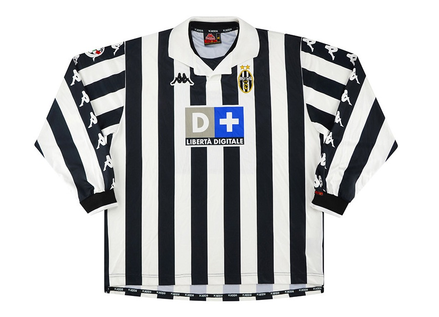 Juventus 1999-00 Kappa Match Issue Home Shirt #juve #juventus #matchworn