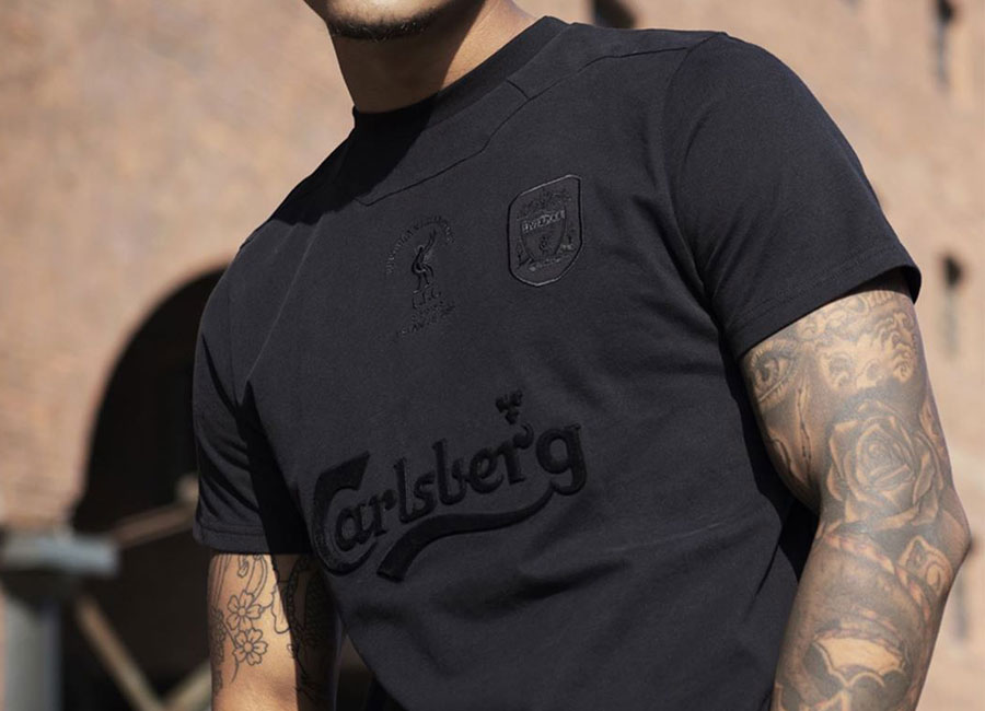 Liverpool Retro Istanbul '05 Blackout Jersey #lfc #liverpool #liverpoolfc