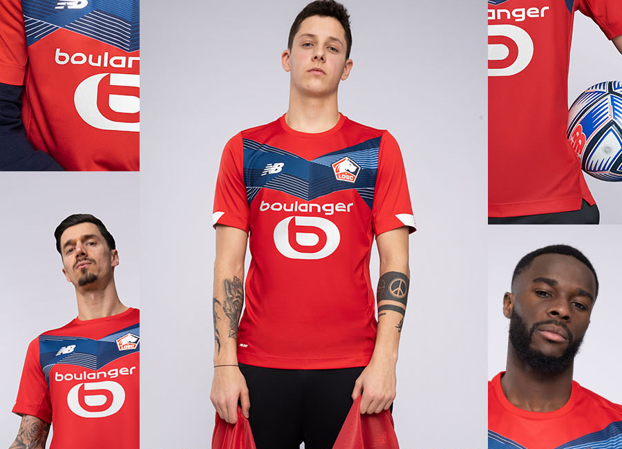LOSC Lille 2020-21 New Balance Home Kit #WeAreTheNewBlood #LOSC #LOSCLille #nbfootball