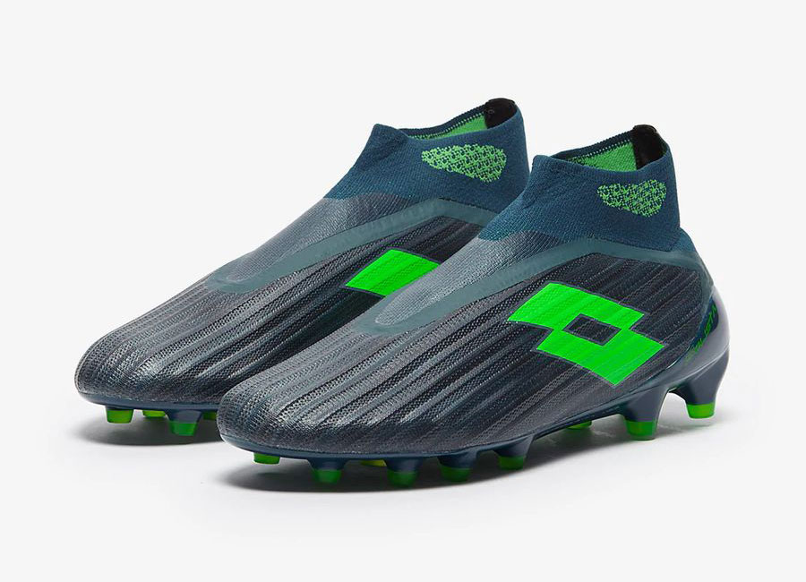 Lotto Solista 100 III Gravity FG - Atlantic Deep / Spring Green / Hydro Green #lottosport #lottofootballl #footballboots
