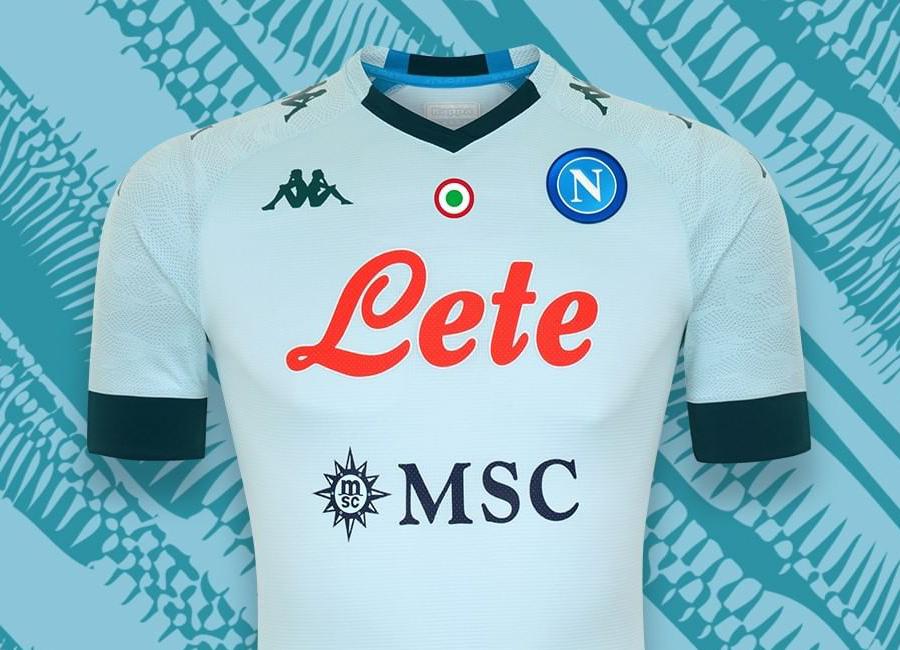 Napoli 2020-21 Kappa Away Kit | 20/21 Kits | Football shirt blog