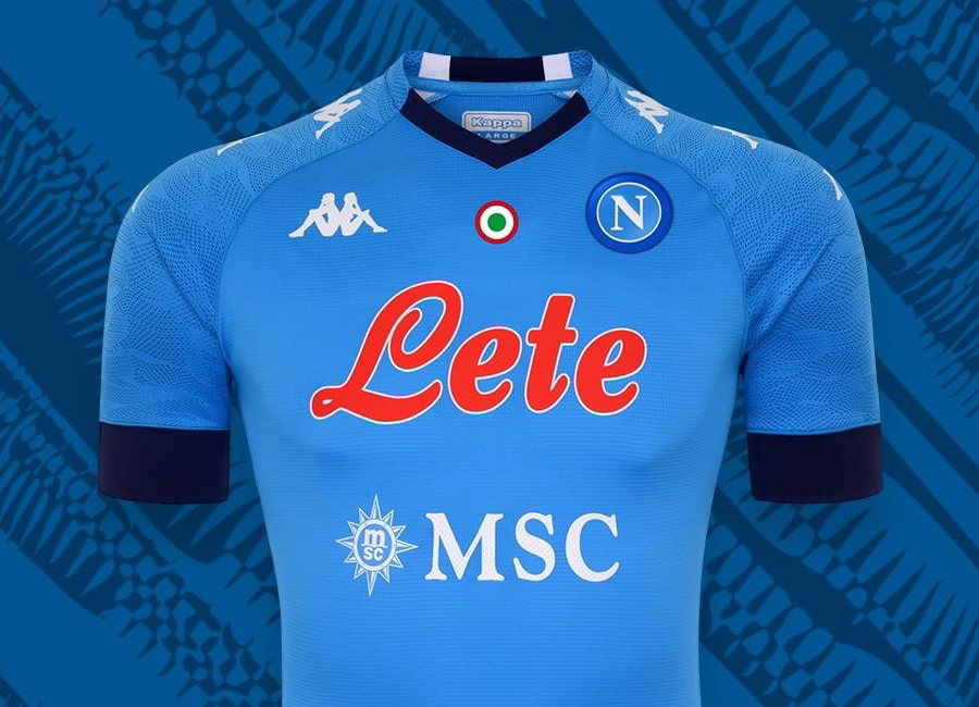 Napoli 2020 21 Kappa Home Kit 20 21 Kits Football Shirt Blog