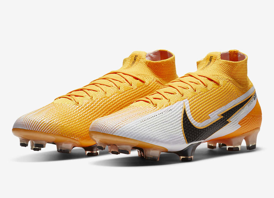 Nike Mercurial Superfly 7 Elite FG Daybreak - Laser Orange / White / Laser Orange / Black #nikefootball #nikefutbol #footballboots
