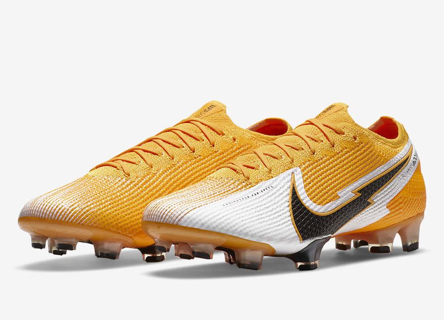 Nike Mercurial Vapor 13 Elite FG Daybreak - Laser Orange / White / Laser Orange / Black #nikefootball #nikefutbol #footballboots
