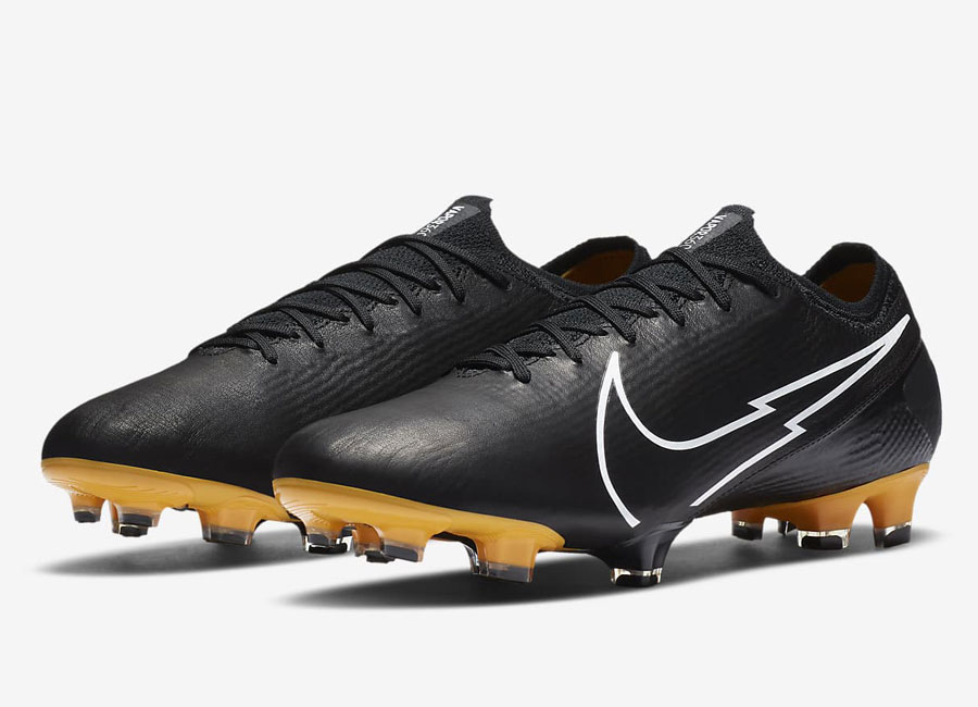 Nike Mercurial Vapor 13 Elite Tech Craft FG - Black / Pro Gold / Metallic Gold / White