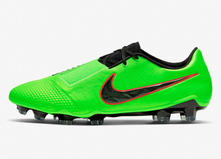 Nike Phantom Venom Elite FG LAB2 - Green Strike / Black #nikefootball #footballboots