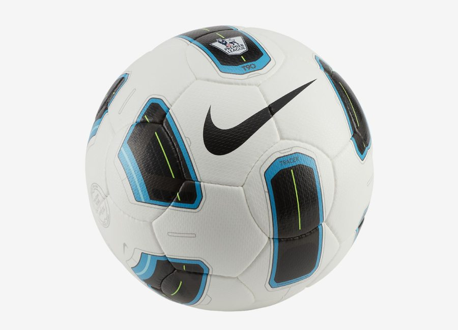 Nike Premier League Total 90 Tracer - White / Blue / Black #nikefootball #nikesoccer