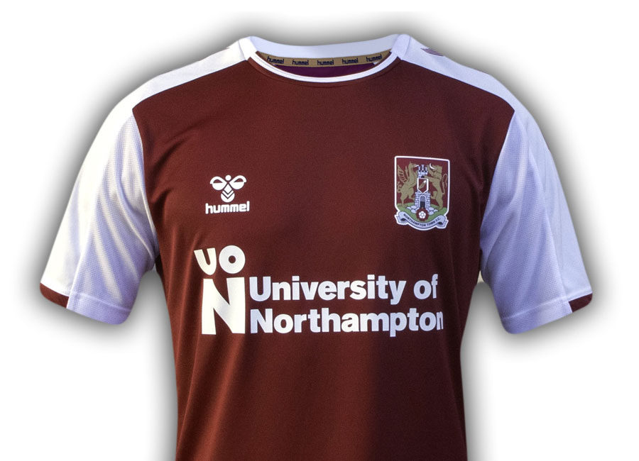 Northampton Town 2020-21 Hummel Home Kit #NorthamptonTown #ntfc