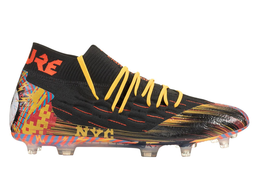 Puma Future 5.1 NYC City Pack FG/AG - Black / Luminous Blue / Ultra Yellow / Nrgy Red #pumafootball #footballboots
