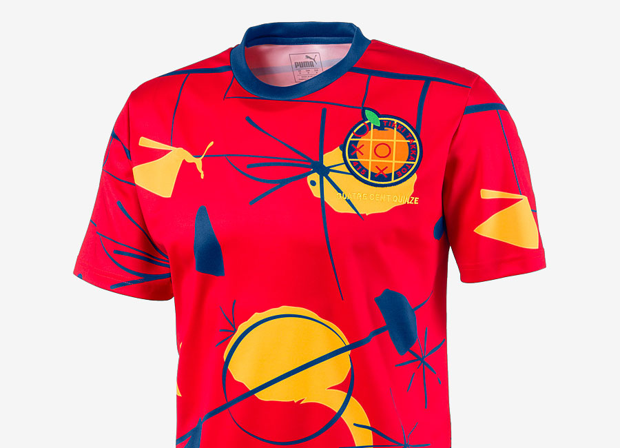 Puma Spain Shirt - High Risk Red / Limoges